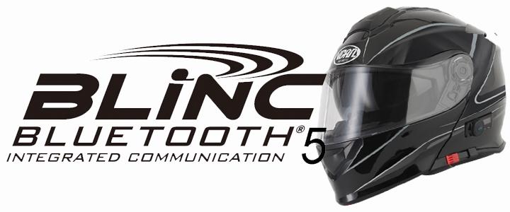Vcan Blinc Bluetooth Motorcycle Helmets | Blinc | Bluetooth | V210