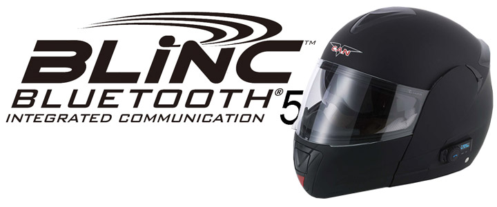 Blinc Bluetooth Motorcycle Helmets