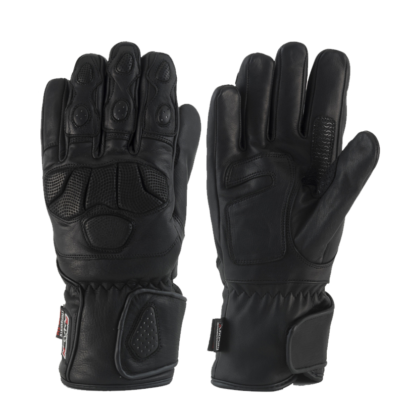 Mens leather gloves thinsulate - Rayven Phoenix Motorcycle Gloves Rayven Motorcycle Clothing
