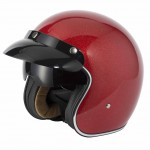 Vcan V537 Candy Red Flake Helmet