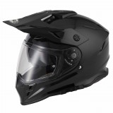Vcan V331 Gloss Black Visor On