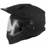Vcan V331 Matt Black Visor On
